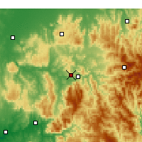 Nearby Forecast Locations - Eildon - Map
