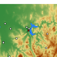 Nearby Forecast Locations - Bonegilla - Map