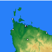 Nearby Forecast Locations - Smithton - Map