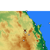 Nearby Forecast Locations - Mareeba Airfield - Map