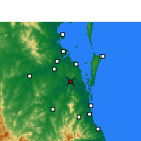 Nearby Forecast Locations - Loganholme - Map