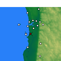 Nearby Forecast Locations - Medina - Map