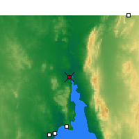Nearby Forecast Locations - Port Augusta - Map