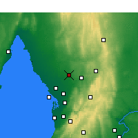 Nearby Forecast Locations - Roseworthy - Map