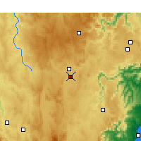 Nearby Forecast Locations - Goulburn Airport - Map