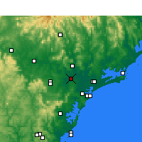 Nearby Forecast Locations - Maitland - Map