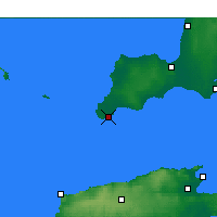 Nearby Forecast Locations - Stenhouse Bay - Map