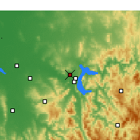 Nearby Forecast Locations - Albury - Map