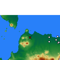 Nearby Forecast Locations - Serang - Map
