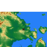 Nearby Forecast Locations - Kendari/wolter - Map