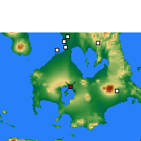 Nearby Forecast Locations - Ambulong - Map