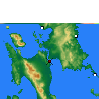 Nearby Forecast Locations - Tacloban - Map
