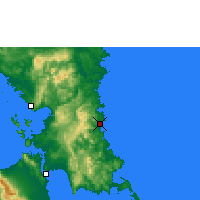 Nearby Forecast Locations - Borongan - Map