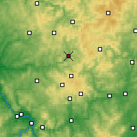 Nearby Forecast Locations - Siegen - Map