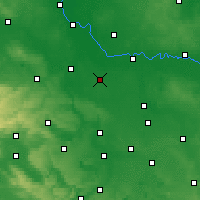 Nearby Forecast Locations - Köthen - Map