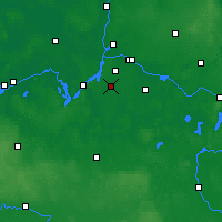 Nearby Forecast Locations - Teltow - Map