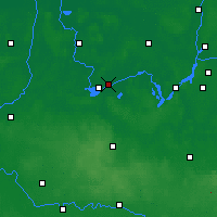 Nearby Forecast Locations - Brandenburg - Map