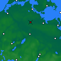 Nearby Forecast Locations - Grimmen - Map