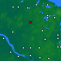 Nearby Forecast Locations - Neumünster - Map