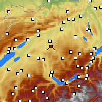 Nearby Forecast Locations - Burgdorf - Map