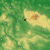 Nearby Forecast Locations - Osterode am Harz - Map