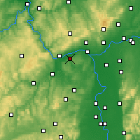 Nearby Forecast Locations - Ingelheim - Map