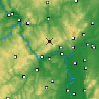 Nearby Forecast Locations - Bad Schwalbach - Map