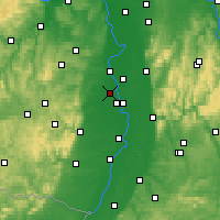 Nearby Forecast Locations - Frankenthal - Map