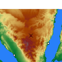 Nearby Forecast Locations - Saint Catherine - Map