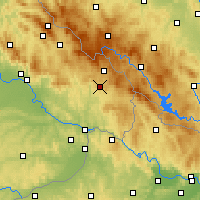 Nearby Forecast Locations - Freyung - Map