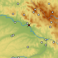 Nearby Forecast Locations - Deggendorf - Map