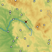 Nearby Forecast Locations - Kulmbach - Map