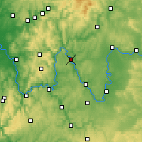 Nearby Forecast Locations - Karlstadt - Map