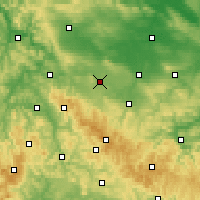 Nearby Forecast Locations - Gotha - Map