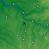 Nearby Forecast Locations - Nérac - Map