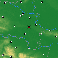 Nearby Forecast Locations - Vinkovci - Map