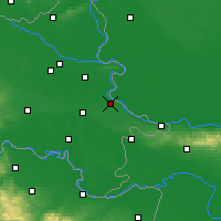 Nearby Forecast Locations - Vukovar - Map