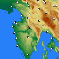 Nearby Forecast Locations - Buzet - Map