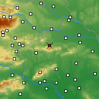 Nearby Forecast Locations - Ivanec - Map
