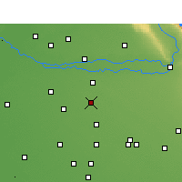 Nearby Forecast Locations - Ahmedgarh - Map