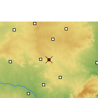 Nearby Forecast Locations - Badepalle - Map