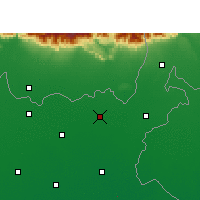 Nearby Forecast Locations - Bahadurganj - Map