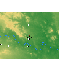 Nearby Forecast Locations - Bellampalle - Map