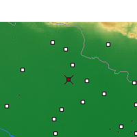 Nearby Forecast Locations - Bettiah - Map
