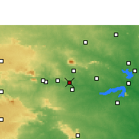Nearby Forecast Locations - Chandrapura - Map
