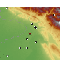Nearby Forecast Locations - Dina Nagar - Map