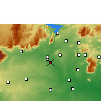 Nearby Forecast Locations - Erode - Map
