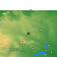 Nearby Forecast Locations - Giridih - Map