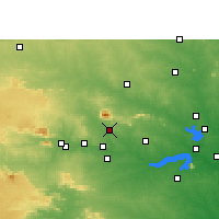 Nearby Forecast Locations - Gomoh - Map