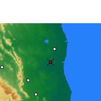 Nearby Forecast Locations - Gudur - Map
